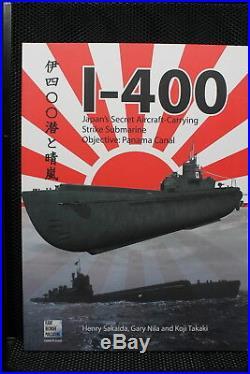 WW2 Japan Japanese Navy Submarine Aircraft Carrier I-400 Book