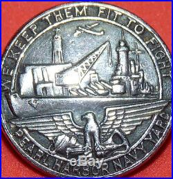 WW2 PEARL HARBOR NAVAL SHIPYARD EMPLOYEE PIN US Battleship aircraft carrier