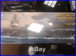WW2 Tamiya U. S. Aircraft Carrier CVN 65 Enterprise