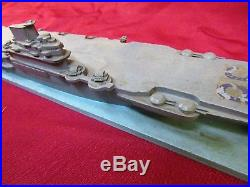 WWII Framburg ID Recognition Model Aircraft Carrier Illustrious Class (Brit-CV)