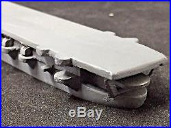 WWII Ship Recognition ID Model, Aircraft Carrier by Comet Metal Prod