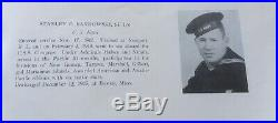 WWII US Navy USS Cowpens Named Uniform Dog Tag Group Aircraft Carrier