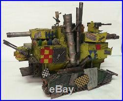 Warhammer 40k Orks Aircraft Carrier, Battlewagon, Battlefortress, Apocolypse