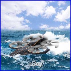 Wltoys Q202 2.4g 4ch 6-axis Triphibian Carrier Aircraft Rtf Quadcopter Hot G1a3