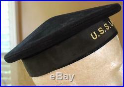 Ww I U S Navy Usn First Aircraft Carrier Uss Langley Named Flat Cap