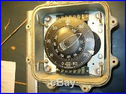 Ww2 Us Navy Wind Direction / Intensity Gage Aircraft Carrier Nautical Friez