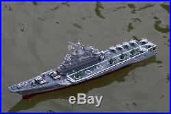 XMAS SALE UK Radio Control RC Model Aircraft Carrier War Ship Battle Speed Boat