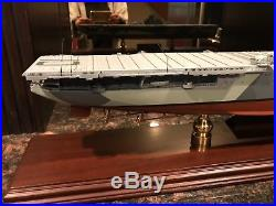 Yorktown Battleship Wwii Signature Le Franklin Mint Aircraft Carrier S/n 0850