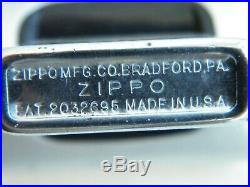 Zippo 1951-53 Patent 2032695 Uss Palau Cve-122 Us Navy Escort Aircraft Carrier